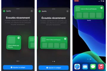 Spotify iOS widgets