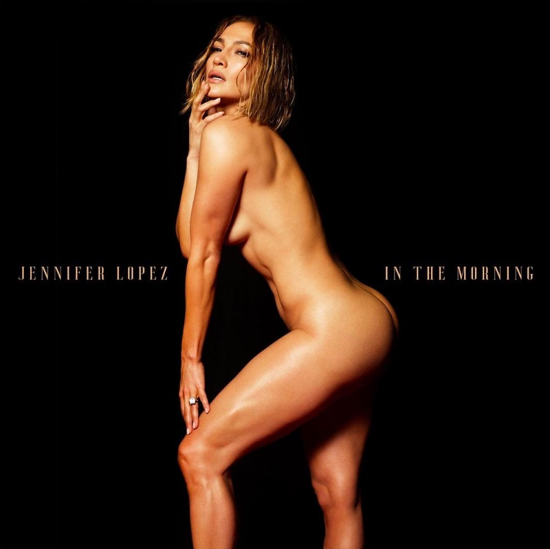 Just-released album cover for Jennifer Lopez single, 'In the Morning'