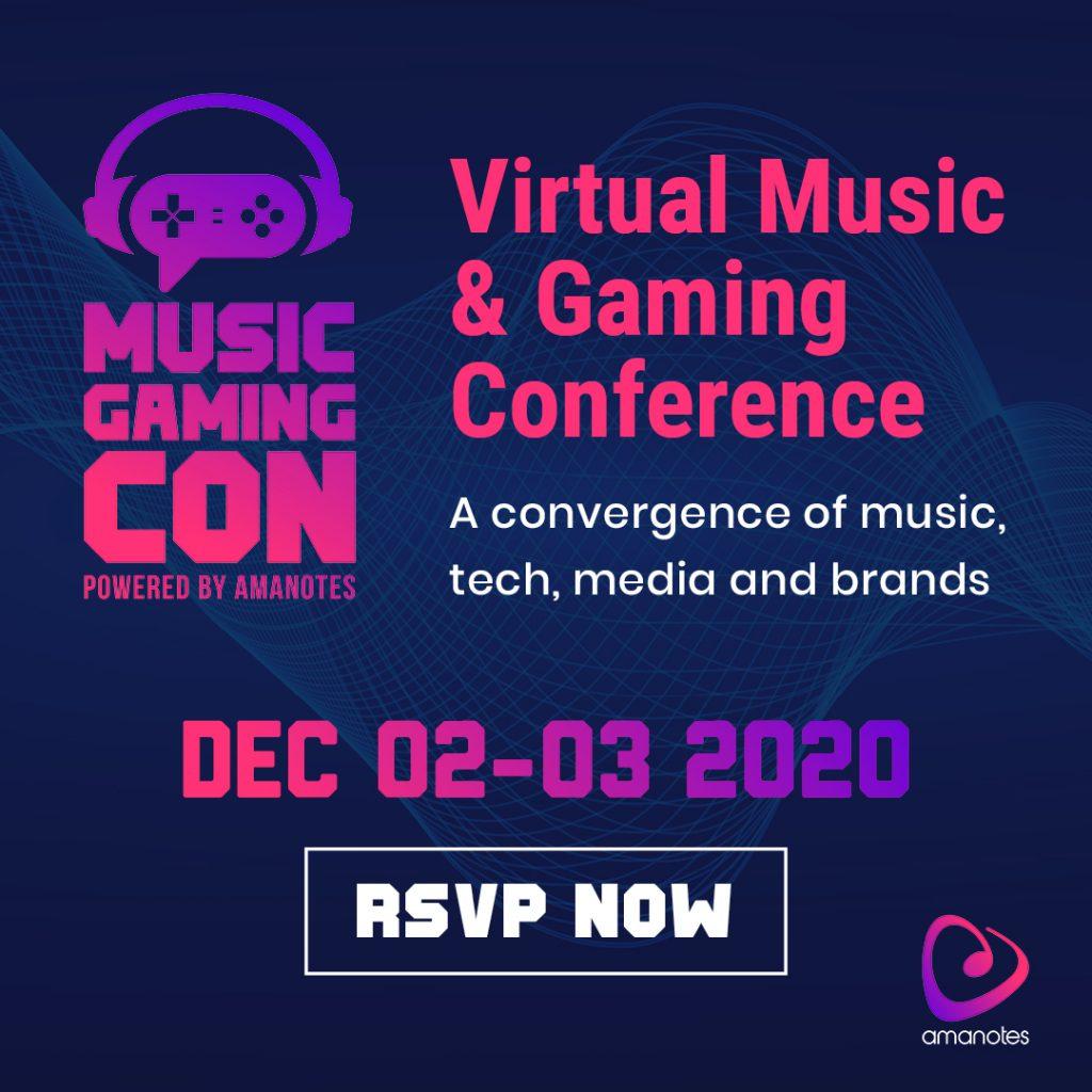 MusicGamingCon: Virtual Music & Gaming Conference