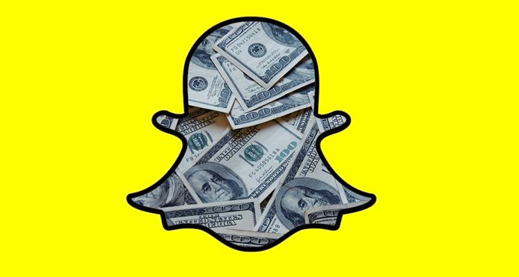 Snapchat paying creators