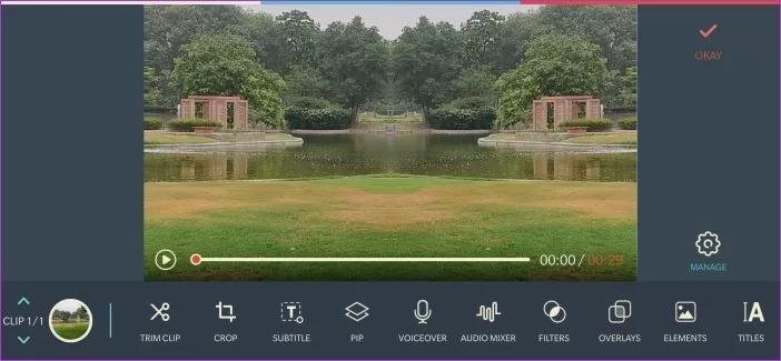Filmora Go background music app