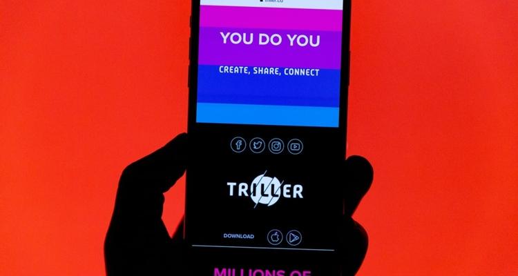 how big is Triller