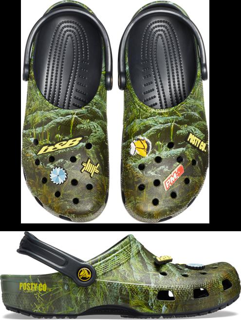 Post Malone Crocs Series 3