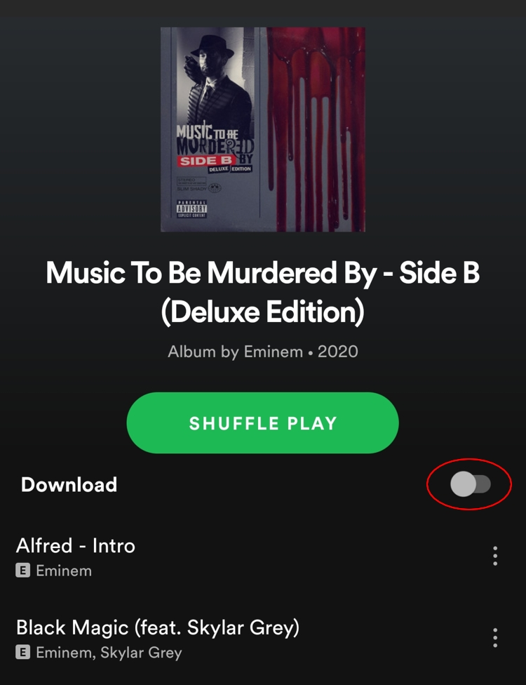 how to download music on Spotify