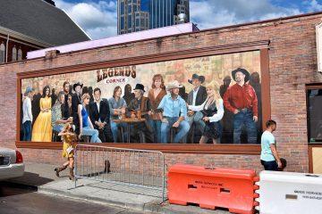 Taylor Swift mural Nashville
