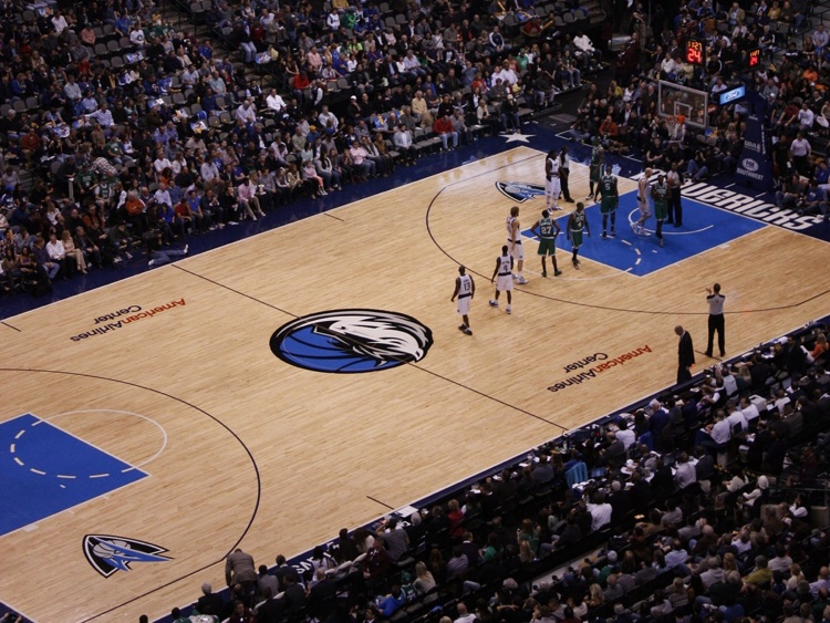 A recent Dallas Mavericks game (photo: Hans Hans)