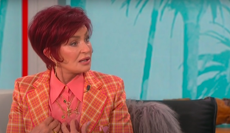 Sharon Osbourne in a heated exchange on The Talk, March 10th.
