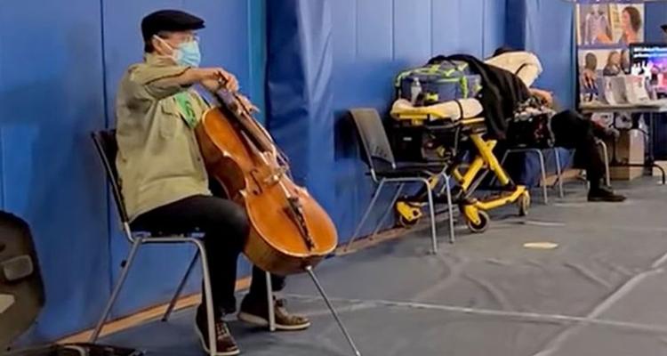 Yo-Yo Ma performance