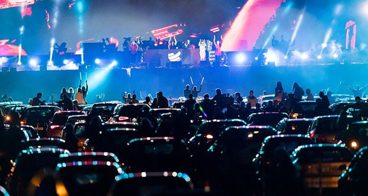 Bon Jovi drive-in concert