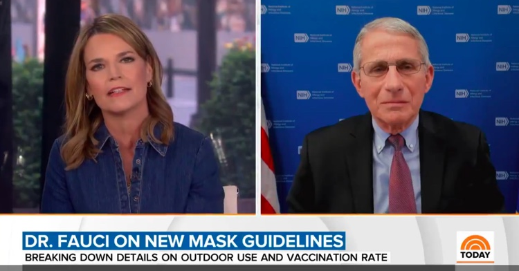 Dr. Anthony Fauci addressed Joe Rogan's comments on COVID-19 vaccinations on the Today Show, April 28th.