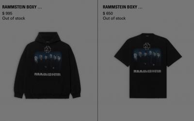 Rammstein luxury merch
