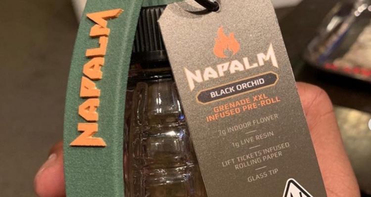 Xzibit Napalm cannabis robbed