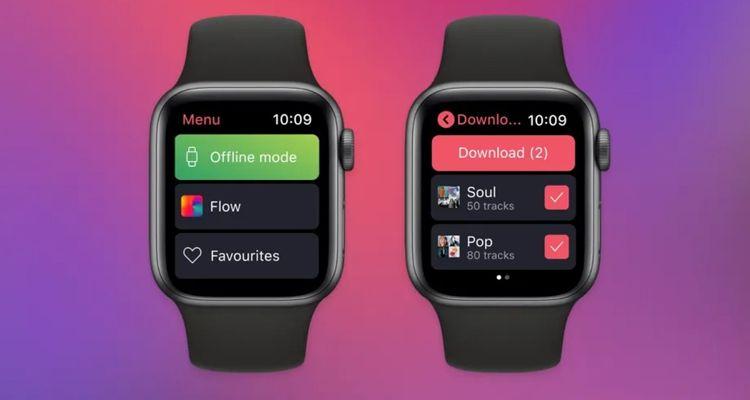 Deezer Apple Watch offline playback