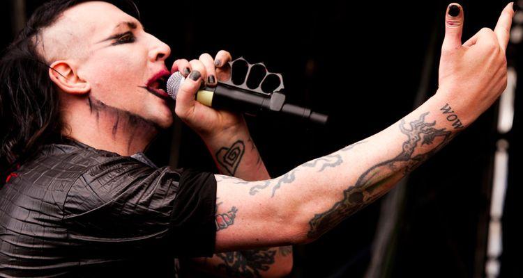Marilyn Manson sued arrest warrant