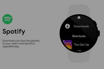 Spotify offline listening Google wear