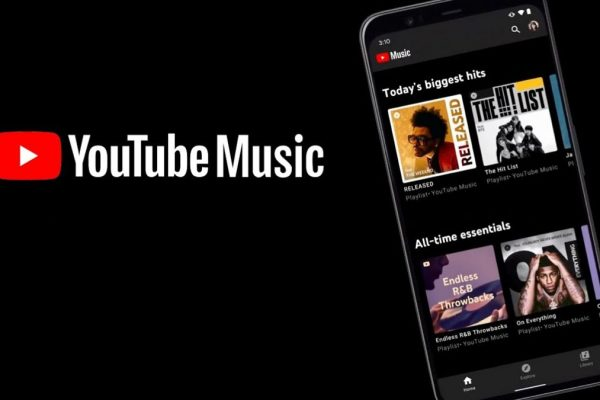 YouTube app music controls