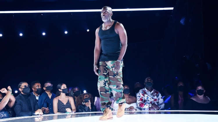 Michael K. Williams offers a stunning tribute to the late rapper DMX during the 2021 BET Awards, which aired this week (photo: BET)