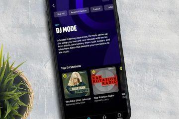 Amazon Music DJ mode