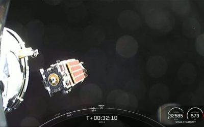 SpaceX Sirius XM satellite launch