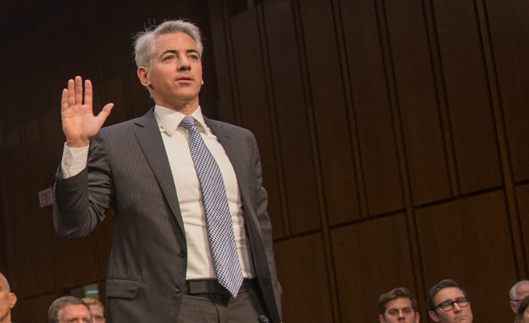 Bill Ackman of Pershing Square Tontine Holdings (PTSH) SPAC, which bailed on its plan to purchase 10% of Universal Music Group.
