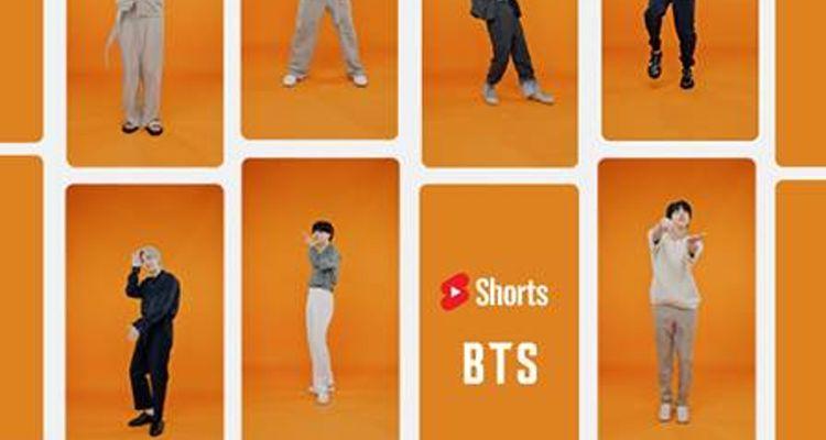 YouTube Shorts BTS challenge
