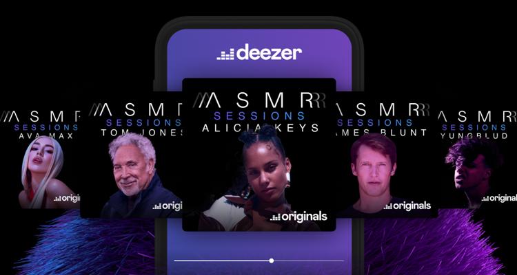 Deezer ASMR channel