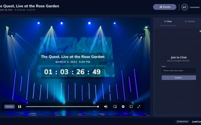 LiveControl for livestreams
