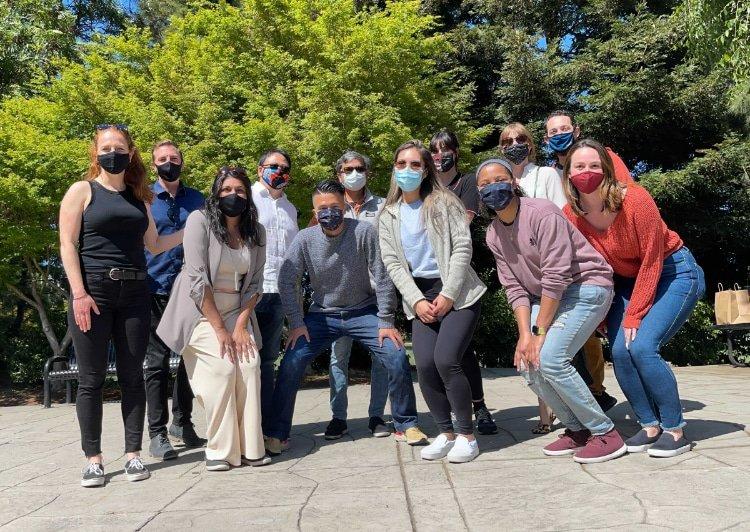 The Tipalti marketing team (photo credit: Tipalti)