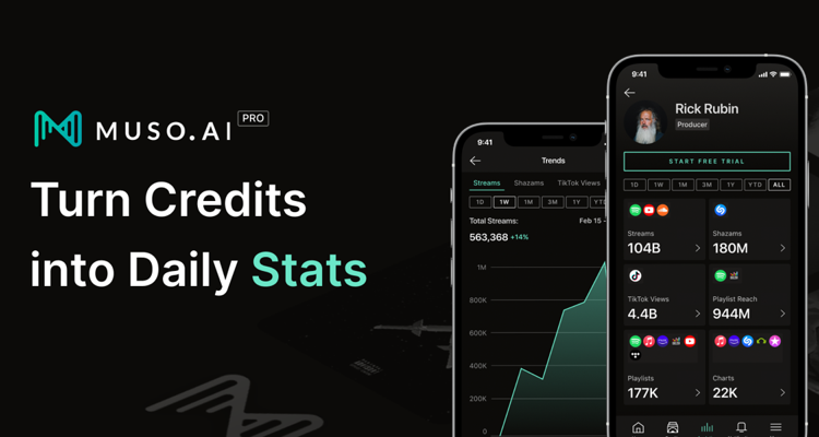how to view stream counts for credits
