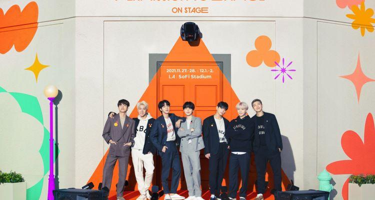 BTS permission to dance LA