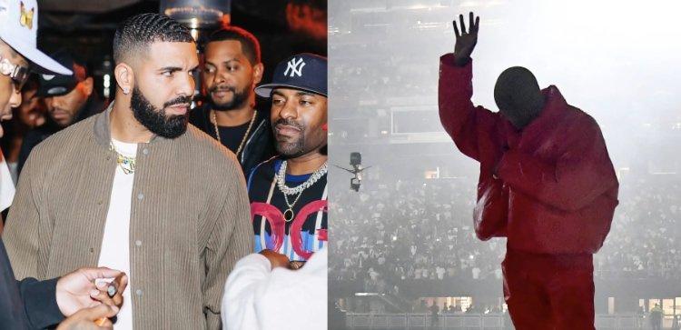 Drake v. Kanye: Spotify and Apple Music album rankings
