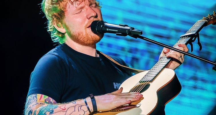 Ed Sheeran blockchain
