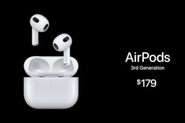 AirPods 3 spatial audio