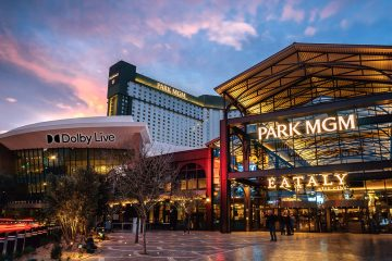 Park MGM Dolby Atmos theater